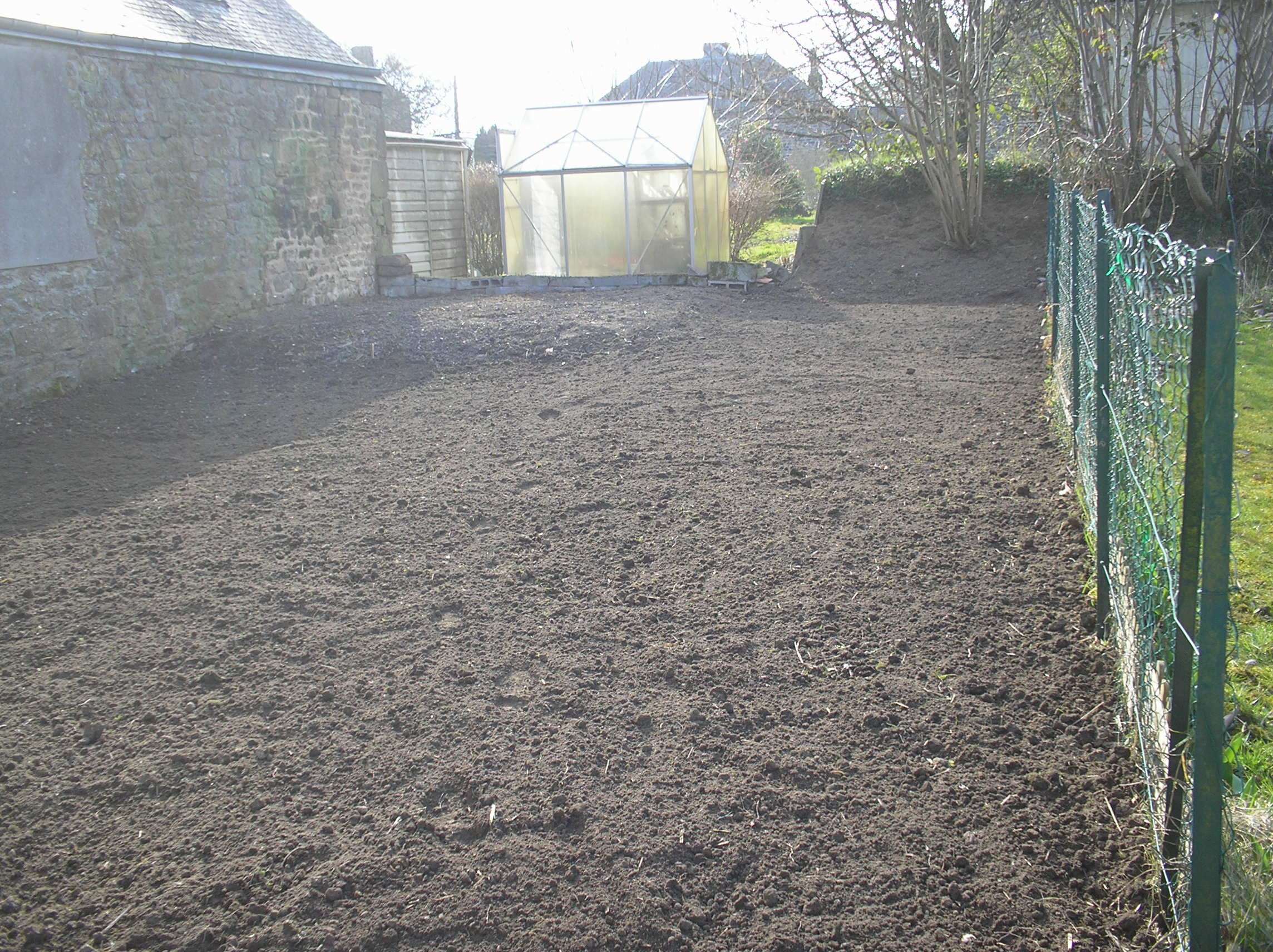 garden maintenance Rotovated and ready for anything