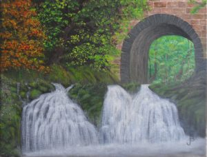 Waterfall Tunnel